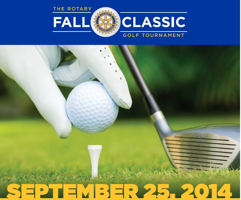 Rotary Golf flyer banner