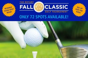 Rotary Golf Tournament flyer 2016