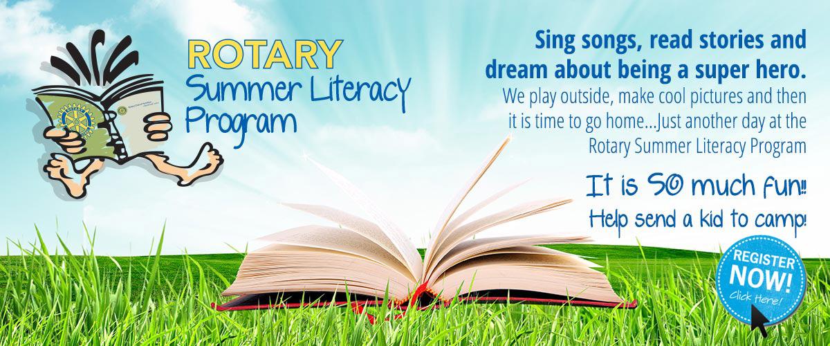 Summer Literacy Rotary club of hamilton
